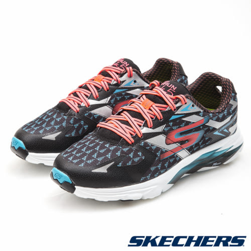 SKECHERS (女) 跑步系列 GORun Ride 5 - 13997BKCL