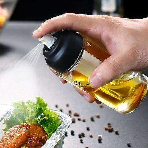 氣壓式噴油瓶 噴霧油壺 氣炸鍋噴油輔助料理工具