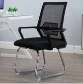 辦公椅弓形電腦椅家用靠背會議室椅現代簡約座椅升降轉椅簡易椅子LX 春季上新
