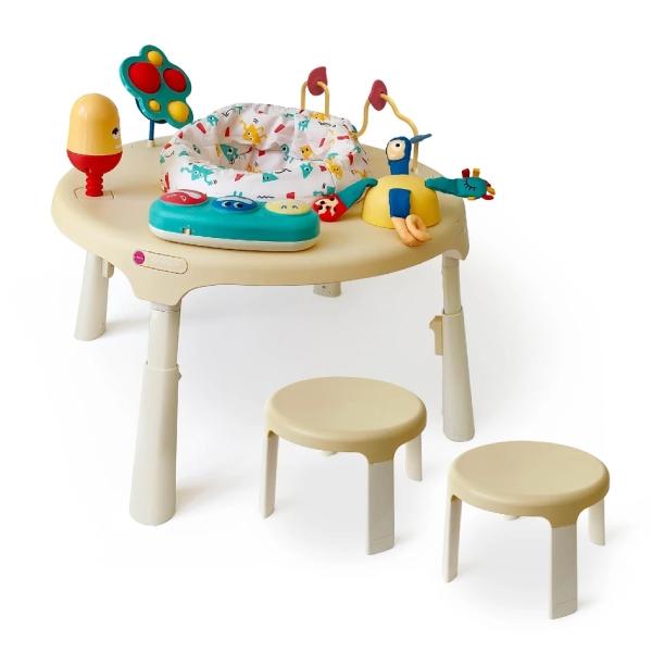 新加坡ORIBEL 成長型遊戲中心/遊戲桌(含椅凳x2) 怪獸星球