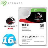 Seagate 那嘶狼【IronWolf】16TB 3.5吋 NAS硬碟 (ST16000VN0001)