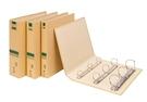"""立強 牛皮紙 環保 檔案夾 美式 孔夾 1-1/2""""D型 12個/箱 GR8603D"""