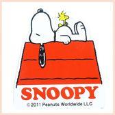 史努比 SNOOPY 車用 磁鐵裝飾貼紙 SN紅屋 磁鐵
