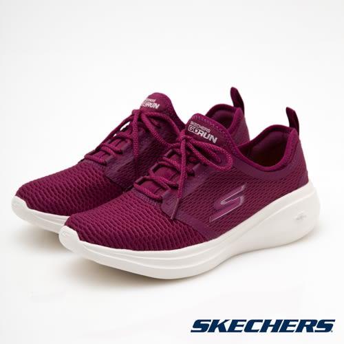 ★現貨在庫★ SKECHERS Go Run Fast 女鞋 慢跑 休閒 記憶鞋墊 襪套 粉紅 【運動世界】 15100PNK