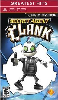 PSP Secret Agent Clank 秘密特攻 克拉克(美版代購)