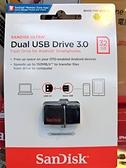 Sandisk 32GB ULTRA SDDD2 USB3.0 32G 雙用隨身碟 Android 安卓專用 OTG 備份 手機儲存碟 公司貨