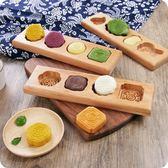 618好康鉅惠木質烘焙模具 家用月餅南瓜餅模具綠豆糕模子