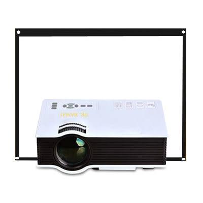 【Dr. Mango】220吋家庭劇院投影機+100吋布幕