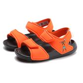 ADIDAS 涼鞋 迪士尼 ALTASWIM 高飛 黑橘 休閒 童鞋 小童 (布魯克林) FW6035