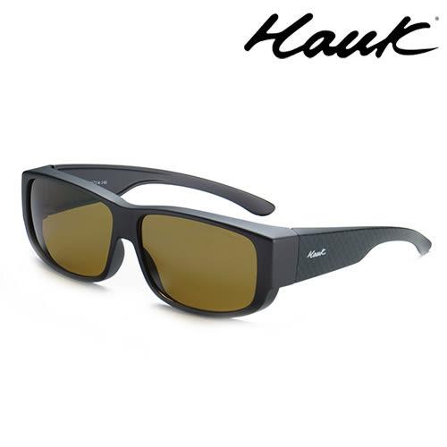 HAWK偏光太陽套鏡(眼鏡族專用)HK1003-47