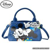 日本迪士尼商店限定 Disney Store 迪士尼 米奇&米妮 OH! MICKEY 背帶手提包