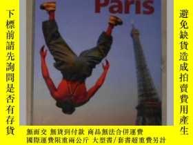 二手書博民逛書店英文原版罕見Lonely Planet Paris by Lon