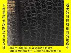 二手書博民逛書店THE罕見BOOK OF COMMON PRAYER 全皮裝幀 三面刷金 12X8CMY282050 B B