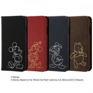 尼德斯Nydus 日本正版 迪士尼 翻頁皮套 可放卡片 手機殼 米奇米妮 唐老鴨 小熊維尼 4.7吋 iPhone7