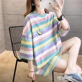 孕婦T恤小香風夏裝短袖上衣2020夏季新款韓版時尚款寬鬆洋氣潮媽