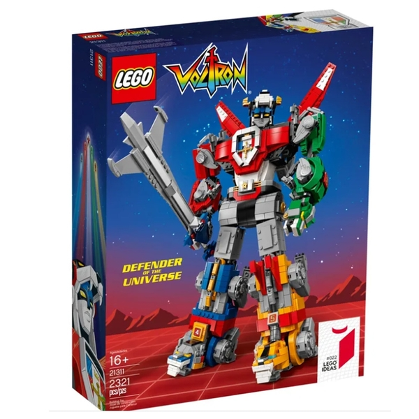 LEGO 樂高 IDEAS 系列 五獅 聖戰士 百獸王 Voltron 21311