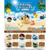 盒裝6款【日本正版】寶可夢 精靈球 阿羅拉地方篇 盒玩 擺飾 寶貝球盆景 神奇寶貝 Re-ment - 204116