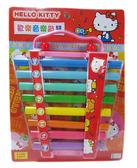 【卡漫城】 Hello Kitty 音樂 敲琴 ㊣版  歡樂 鐵琴 扮家家酒 遊戲組 ST 兒童 安全玩具