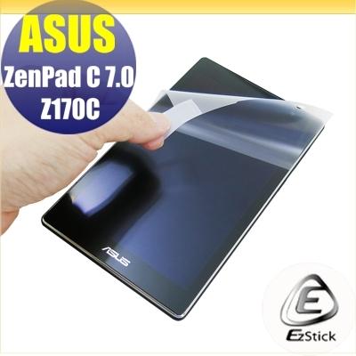 【Ezstick】ASUS ZenPad C 7.0 Z170 靜電式平板LCD液晶螢幕貼 (可選鏡面防汙或高清霧面)