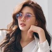 CARIN 太陽眼鏡 KATHARINE C3 (玫瑰金-漸層粉鏡片) 韓星秀智代言 時尚簡約圓框款 墨鏡 # 金橘眼鏡