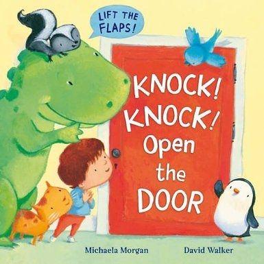 【麥克書店】KNOCK! KNOCK! OPEN THE DOOR /英文繪本