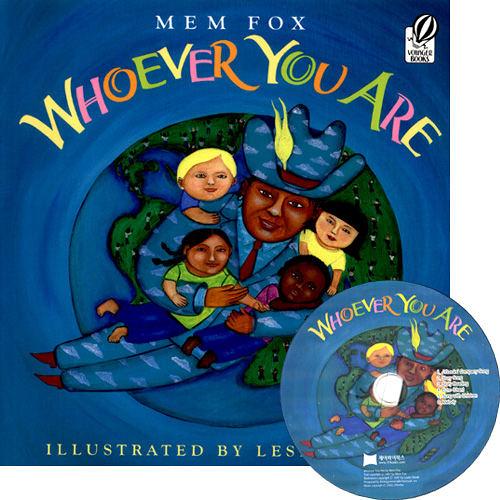 【麥克書店】WHOEVER YOU ARE /英文繪本+CD《主題:社會文化》