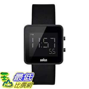 [美國直購] Braun Men s 男士手錶 BN0046BKBKG Digital Digital Display Quartz Black Watch