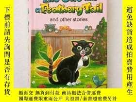 二手書博民逛書店英文原版罕見The cat with a feathery tail and other stories(精装)奇