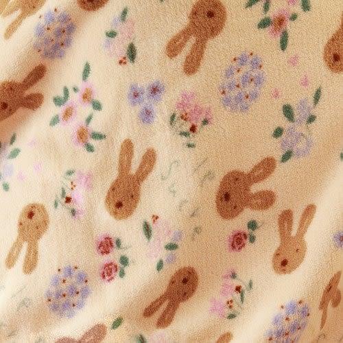 【發現。好貨】Le Sucre法國兔砂糖兔經典米黃空調毯 珊瑚絨100*150公分