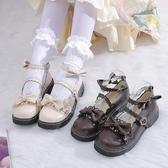 紳士鞋梅露露lolita鞋原創正版jk洛麗塔鞋子蘿莉小皮鞋女日繫軟妹娃娃鞋 雙11 伊蘿