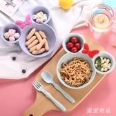家用兒童吃飯碗寶寶碗防摔塑料碗餐具  可愛卡通碗套裝 LN2041【東京衣社】
