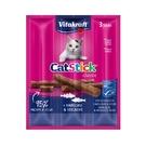 寵物家族-德國Vitakraft貓快餐-鱈魚+黑鱈(每包3條入)