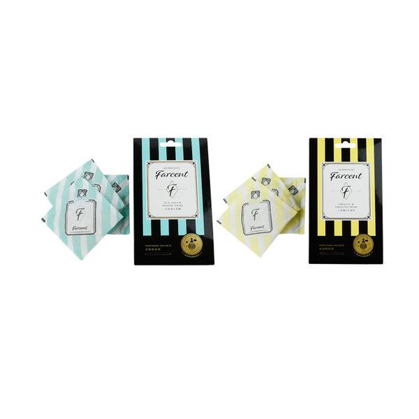 Farcent 香水衣物香氛袋10g*3袋 ◆86小舖 ◆