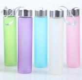 ✭慢思行✭【G10】韓國磨砂摔不破棒棒杯 飲料杯 運動水杯 防漏水杯 汽水杯 可愛造型攜帶瓶