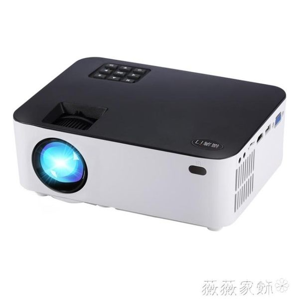 投影機 福滿門 投影儀 家用小型安卓手機無線wifi投影機智慧3D高清1080p MKS 薇薇家飾