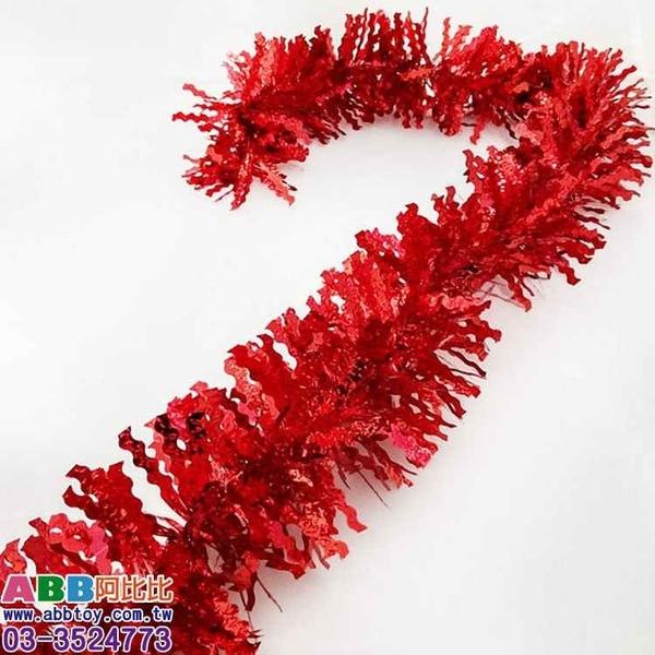 A0110_波浪壓紋彩條_長200cm_9cm#聖誕派對佈置氣球窗貼壁貼彩條拉旗掛飾吊飾