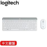 Logitech 羅技 MK470 超薄無線鍵鼠組 珍珠白