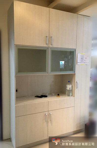 【歐雅 系統家具 】廚具 餐邊電器櫃
