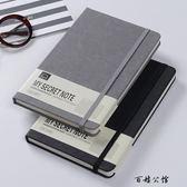 筆記本文具復古綁帶隨身日記本