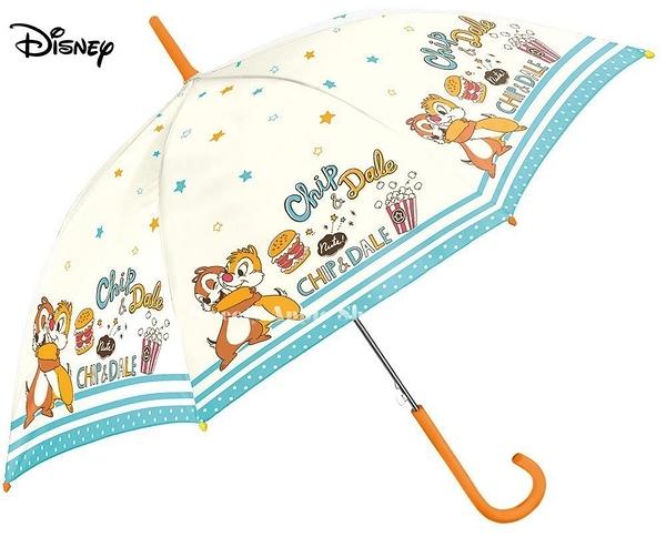 日本限定 迪士尼 奇奇蒂蒂 爆米花&漢堡 直立式 雨傘