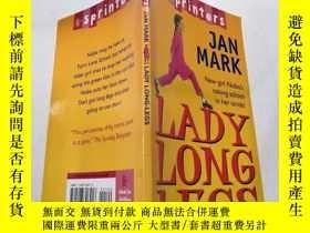 二手書博民逛書店lady罕見long legs:女士長腿.Y200392 不祥 不祥
