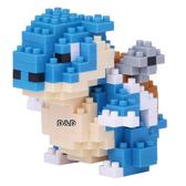 《 Nano Block 迷你積木 》【 神奇寶貝系列 】NBPM - 019 水箭龜