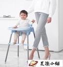 兒童餐椅 寶寶餐椅嬰兒吃飯椅子便攜式可折疊多功能兒童餐桌椅座椅家用 星際小鋪
