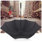 【48吋防風傘】一鍵開啟加大高爾夫球傘  晴雨傘 半自動海綿長柄直立傘  附斜背式傘袋商務傘