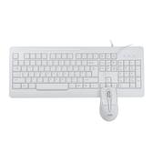 AOC鍵鼠套裝KM110有線鍵盤鼠標套裝游戲辦公家用USB臺式電腦筆記本電腦黑色白色