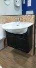 【麗室衛浴】全台獨賣    義大利原裝 AXA 半崁陶瓷面盆+發泡板浴櫃組