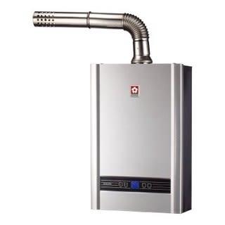 【櫻花 SAKURA】 DH1638A 數位恆溫16L瓦斯熱水器 (限北北基地區購買安裝)