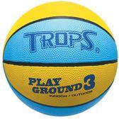 TROPS-#3兒童籃球(黃)【愛買】