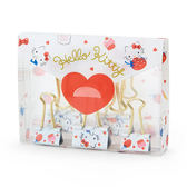 【震撼精品百貨】Hello Kitty 凱蒂貓~HELLO KITTY幸福女孩系列第二彈長尾夾組-一組9個入(甜蜜草莓)
