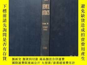 二手書博民逛書店CHEMICAL罕見ABSTRACTS化學摘要 1983 Vol 98(P)Y302069 出版1983